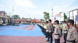 Polres Sidrap Siapkan Ratusan Personil Amankan Pilkades Serentak 2021