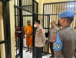 Kapolres Sidrap Rajin Cek Tahanan, Kondisi dan kesehatannya Paling Utama
