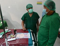 Bupati Sidrap Semangati dan Doakan Pasien Operasi Bibir Sumbing Gratis