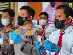 Sabu-sabu 56,1 Gram di Sidrap Ditemukan Polisi di Atas Plafon