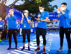 Disiarkan Vidio com, Pocari Sweat Sukses Gelar Ajang Lari Secara Hybrid di Bandung
