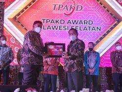 Tiga Tahun Berturut-turut Sidrap Raih TPAKD Award